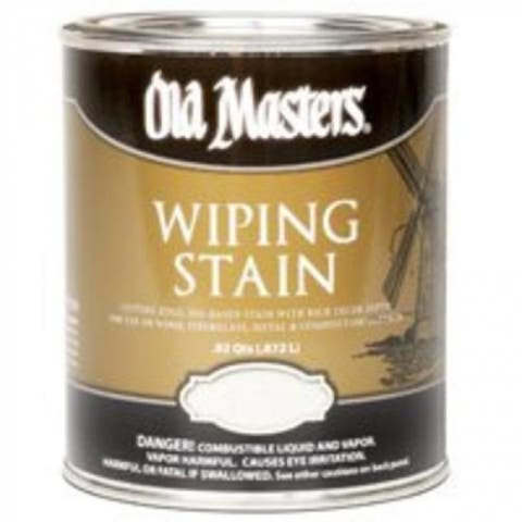 Old Masters 12104 Wiping Stain 1-Quart, Special Walnut