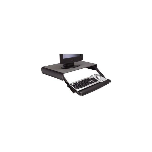 3M Adjustable Keyboard Drawer Black Desktop Keyboard Drawer