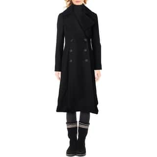 French Connection Womens Pea Coat Double-Breasted Maxi|https://ak1.ostkcdn.com/images/products/is/images/direct/85c1ecc4eef95c368ed8d50e90d9a8397ff2d496/French-Connection-Womens-Pea-Coat-Double-Breasted-Maxi.jpg?impolicy=medium