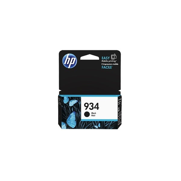 HP 934 Black Original Ink Cartridge (C2P19AN) (Single Pack)