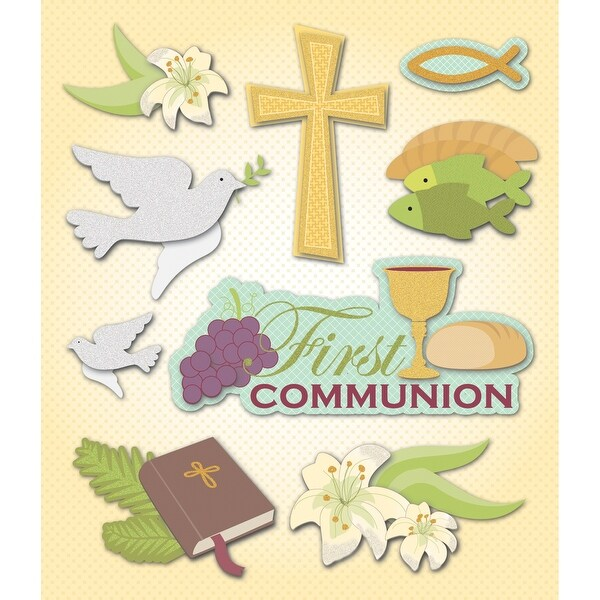 Life's Little Occasions Sticker Medley-1St Communion