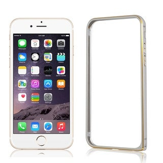 Ultra Thin Slim Aluminum Bumper Frame Cover Case Silver Tone for iPhone 6 4.7