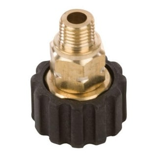 """Forney 75107 Male Screw Coupling, M22F x 1/4"""""""