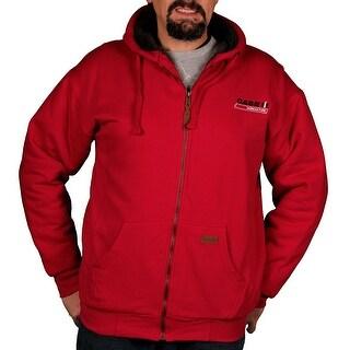 Case IH Men's Sherpa-Lined Hoodie