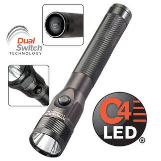 Streamlight Stinger DS 75813 C4 LED Flashlight with AC/DC Steady Charge, Black