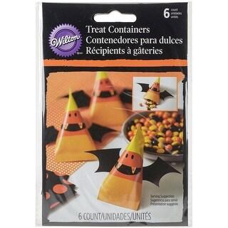 Cinched Pouches 6/Pkg-Candy Corn