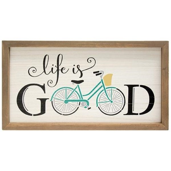 Shop Life Is Good Wall Art Free Shipping Today Overstockcom