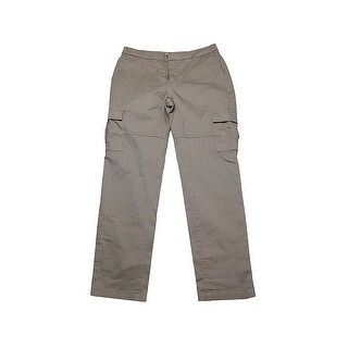 Two By Vince Camuto Khaki Cropped Cargo Pants 2
