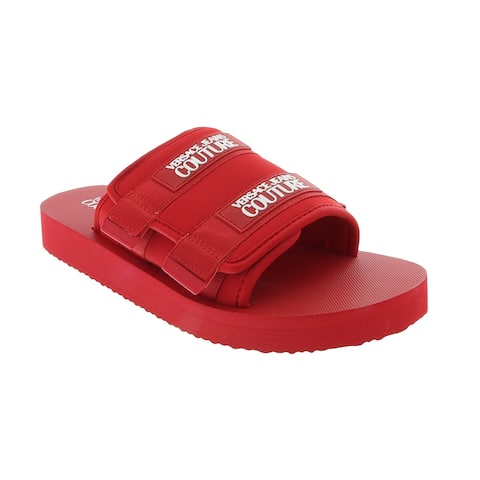 Versace Jeans Couture Red Contemporary Summer Sandals-