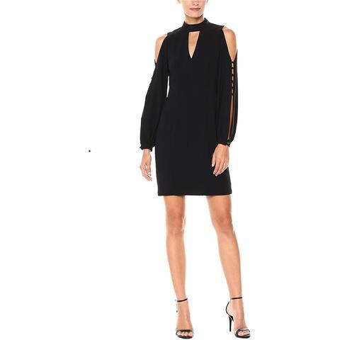 Nanette Lepore Womens Dita A-Line Dress