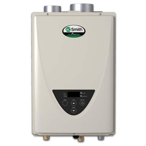 AO Smith ATO-110U-N 6.6 GPM Residential/Commercial Ultra Low-NOx Non-Condensing Natural Gas Outdoor Tankless Water Heater with