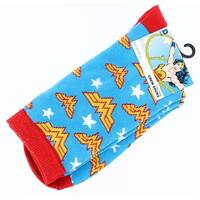 Wonder Woman Junior Crew Socks - Blue