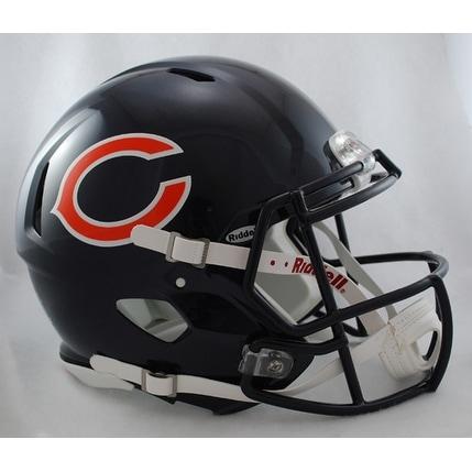 Chicago Bears Riddell Speed Full Size Authentic Proline Football Helmet
