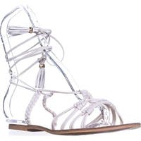 Nanette Lepore June Gladiator Sandals, Ice