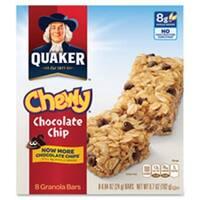 Chewy Granola Bars, 6.7oz., 8-BX, Chocolate Chip