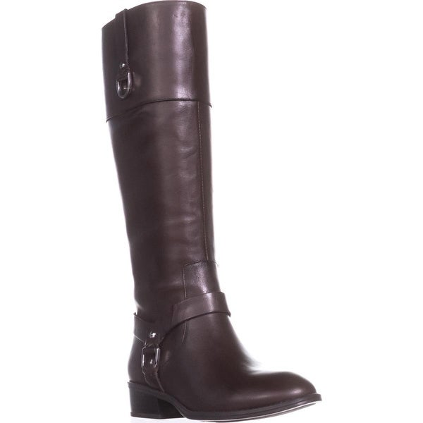 Lauren by Ralph Lauren Mesa Riding Boots, Dark Brown/Dark Brown - 5 us / 36 eu