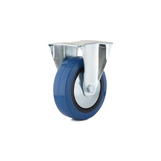Richelieu F24795 185 lb. Maximum Weight Capacity Commercial Grade Fixed Mount Caster - Blue
