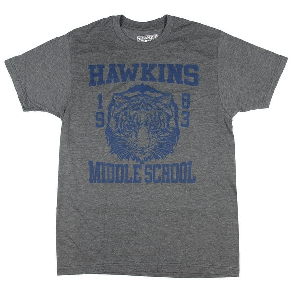 Shop Stranger Things Hawkins Middle School Television Series Mens T