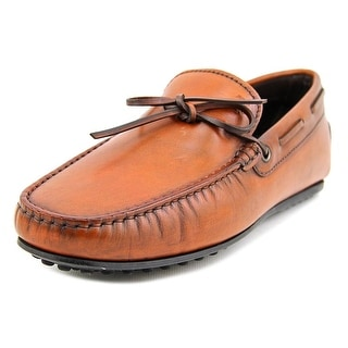 Tod's Laccetto City Gommino N Moc Toe Leather Loafer
