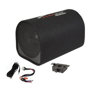 "Audiopipe 10"" Single ported bass tube enclosure 500W"