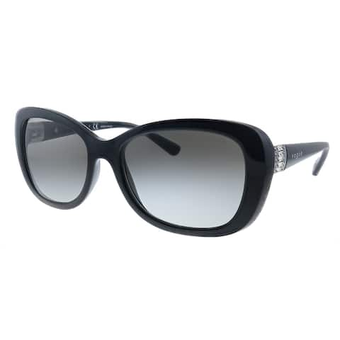 Vogue Eyewear VO 2943SB W44/11 Womens Black Frame Grey Gradient Lens Sunglasses