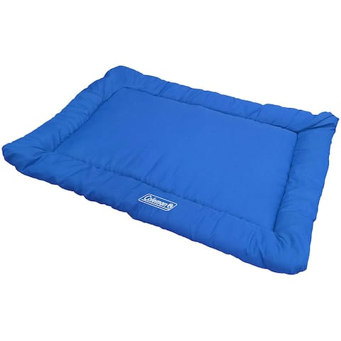 Coleman Large Dog Bed for Travel, Roll Up Foldable Packable Pet Mat Travel Beds - 36x2x24 Inches