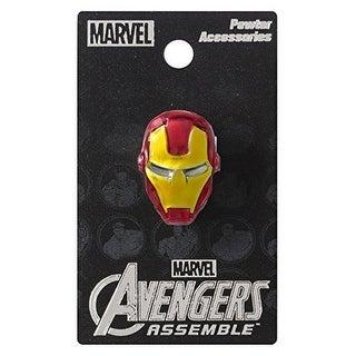 Marvel Pewter Lapel Pin Colored Iron Man - multi
