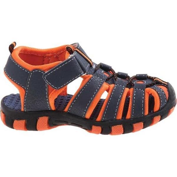 Rugged Bear Boys Rb01013m Sport Sandal Blue Orange Pu