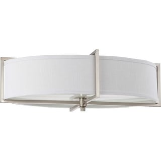 "Nuvo Lighting 60/4469 Portia 6 Light 24"" Wide Flush Mount Indoor Ceiling Fixture - 16 Inches Wide"