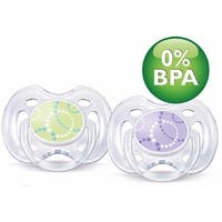 Avent SCF180/23 Contemporary Freeflow Pacifier (0-6 Mo's)
