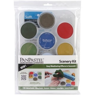 PanPastel Ultra Soft Artist Pastel Set 9ml 7/Pkg-Scenery
