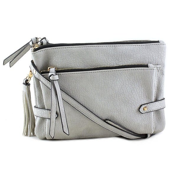 Violet Ray Addison Synthetic Messenger - gray