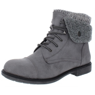 Link to Cliffs by White Mountain Womens Decker Booties Mixed Media Ankle Similar Items in Women's Shoes
