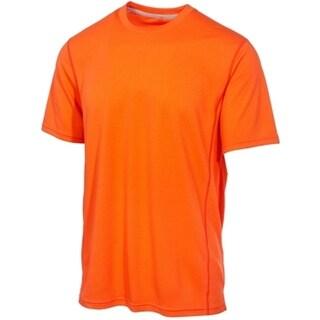 Ideology NEW Orange Glaze Mens Size Large L Mesh Performance Training Shirt