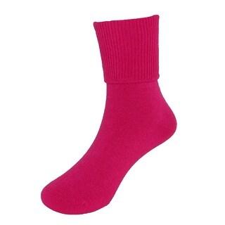 Jefferies Socks Children's Turn Cuff Anklet Socks