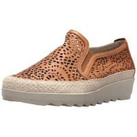 The Flexx Womens Call Me Leather Low Top Pull On Fashion Sneakers