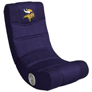 Video Gaming Chair W/Bluetooth - NFL- Minnesota Vikings