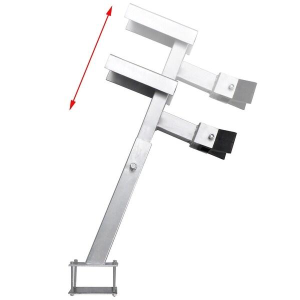 vidaXL Boat Trailer 1100-2200 lb Steel Heavy Duty Winch Stand Bow Support