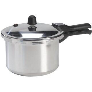 Mirro 92140A Polished Aluminum Pressure Cooker Cookware, 4 Quart