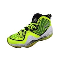 Nike Men's Air Penny V 5 HL Volt/Black-White Highlighter 628568-701