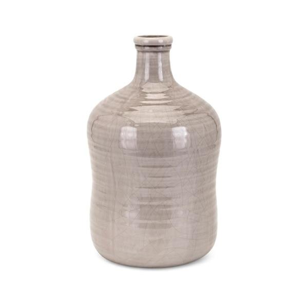 Gorgeous Khaki Finished Ceramic Small Vase, Beige