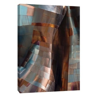 "PTM Images 9-105829  PTM Canvas Collection 10"" x 8"" - ""Metallic Spiral"" Giclee Buildings and Landmarks Art Print on Canvas"