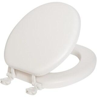 Mayfair White Soft Round Seat