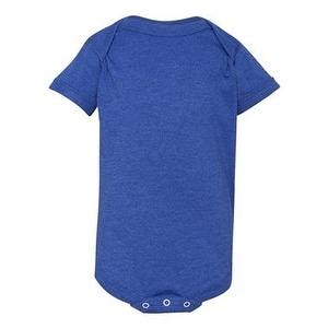 Infant Vintage Fine Jersey Bodysuit - Vintage Royal - 12M