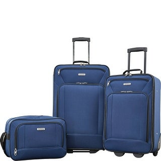 American Tourister Fieldbrook XLT 3PC SET (BB/ 21/25 UPRIGHT), Navy