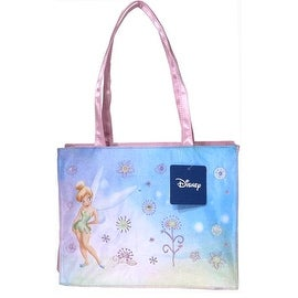 Tinkerbell Large Tote Bag with Pink Trim