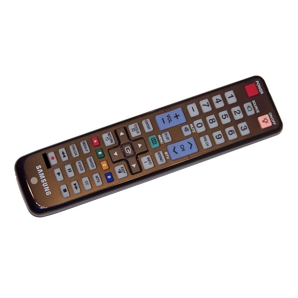 OEM Samsung Remote Control: PN58C6400TF, PN58C6400TFX, PN58C6400TFXZA, PN58C6400TFXZC, PN58C6500, PN58C6500TF