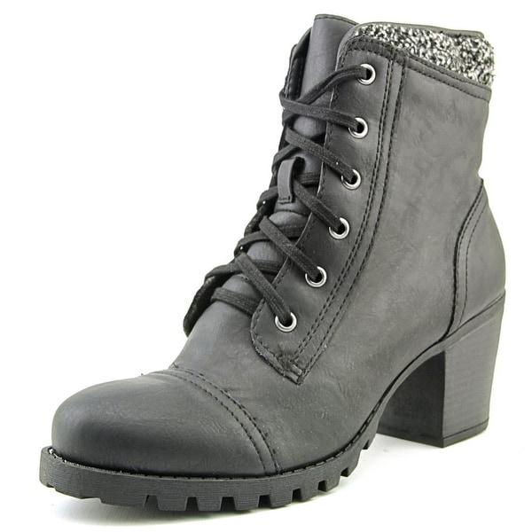 858f8edf97c9 Shop XOXO Carola Women Round Toe Canvas Ankle Boot - Free Shipping ...