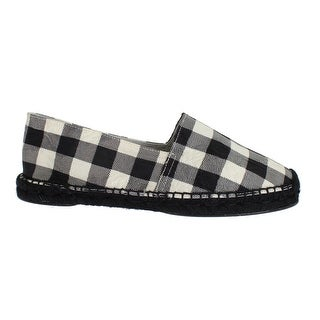 Dolce & Gabbana Checkered Brocade Espadrille Shoes Loafers - 40