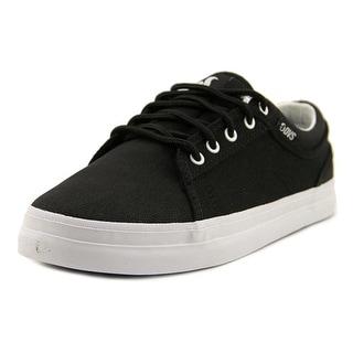 DVS Aversa Round Toe Canvas Skate Shoe